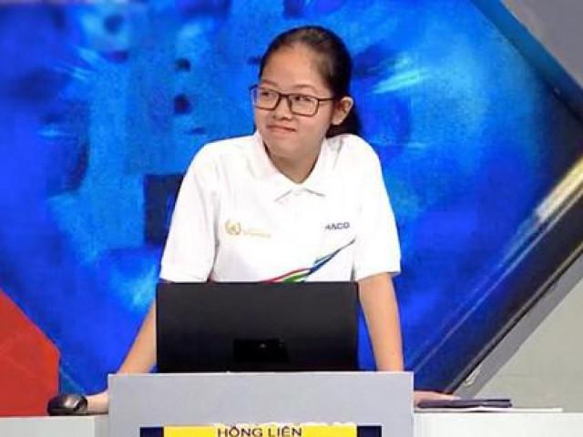 Nữ sinh Hà Nội nhẹ nhàng lập cú đúp kỷ lục 21 năm Đường lên đỉnh Olympia