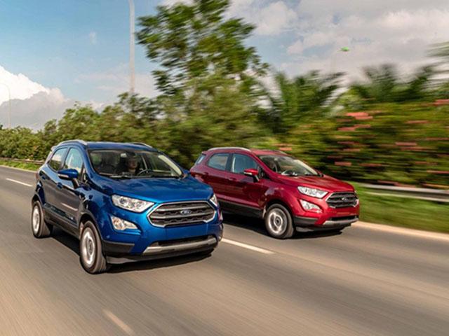 Ford triệu hồi 134 xe Ecosport vì lỗi ống dầu hệ thống phanh