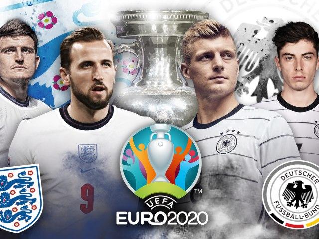 """Nhận định bóng đá Anh - Đức: Đại chiến kinh điển vì """"vé vàng"""" tứ kết (Vòng 1/8 EURO)"""