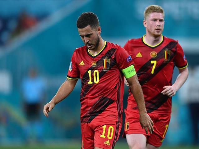 Tin nóng EURO sáng 29/6: Hazard & De Bruyne vắng mặt tứ kết