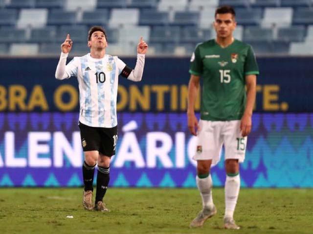 Video Bolivia - Argentina: Messi ghi cú đúp rực sáng, vùi dập dễ dàng (Copa America)