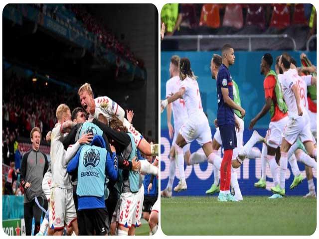 Kịch bản choáng nhất EURO: Đan Mạch hẹn Thụy Sỹ chung kết, Anh - Bỉ chưng hửng