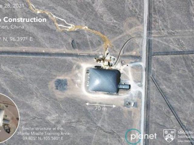 Trung Quốc xây thêm hơn 100 hầm phóng tên lửa
