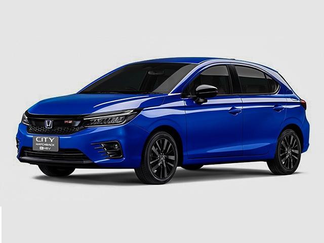 Honda City bản Hatchback có thêm biến thể sử dụng động cơ lai Hybrid