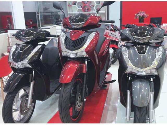 Honda điều chỉnh giá loạt xe máy: SH tăng mạnh nhất