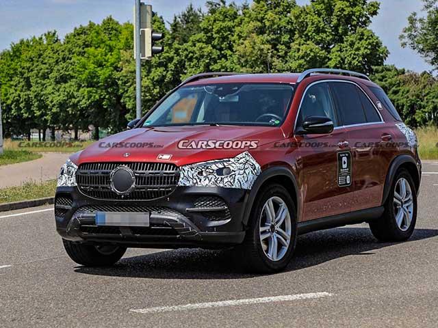 Mercedes-Benz GLE bản nâng cấp mới bị bắt gặp trên đường thử