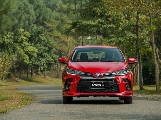 Giá xe Toyota Vios niêm yết và lăn bánh tháng 7/2021