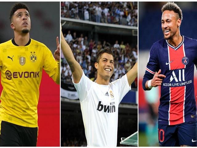 Sancho sắp về MU: Cùng Ronaldo, Neymar lọt top 10 thương vụ lãi nhất lịch sử