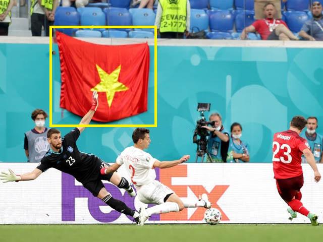Báo Tây Ban Nha ngỡ ngàng vì lá cờ Việt Nam ở EURO, fan thế giới bàn tán