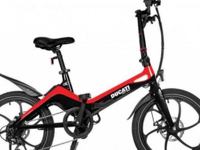 Xe đạp điện gấp gọn Ducati MG-20 ra mắt, giá 44 triệu đồng