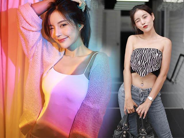Hot girl Thái có thân hình chữ S, vòng 1 gợi cảm khiến người xem khó rời mắt