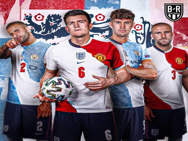 MU - Man City ghi dấu ấn EURO 2020: ĐT Anh bay cao nhờ bộ tứ siêu hậu vệ