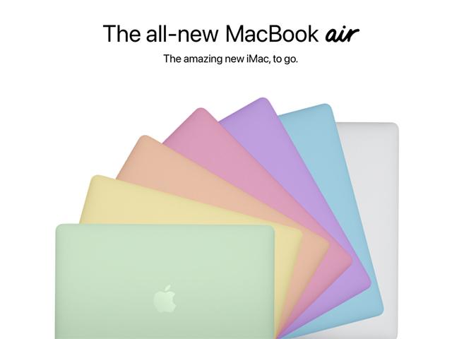 Trọn bộ màu sắc MacBook Air 2021, lung linh không kém iMac