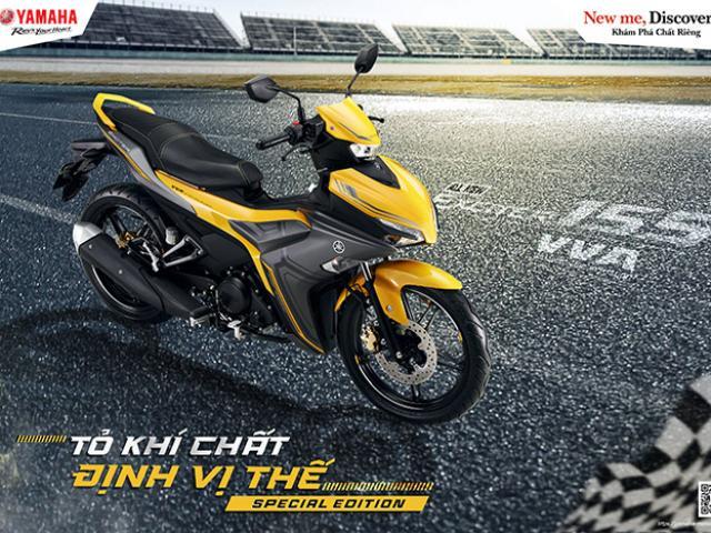 Yamaha ra mắt Exciter 155 VVA phiên bản giới hạn kèm loạt phụ kiện nâng cấp chính hãng 2021
