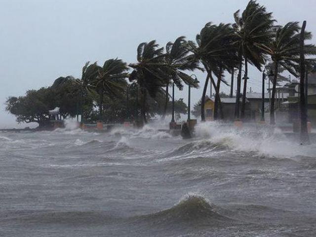 Áp thấp nhiệt đới đi vào vùng biển Thái Bình-Thanh Hóa, mưa to nhiều nơi