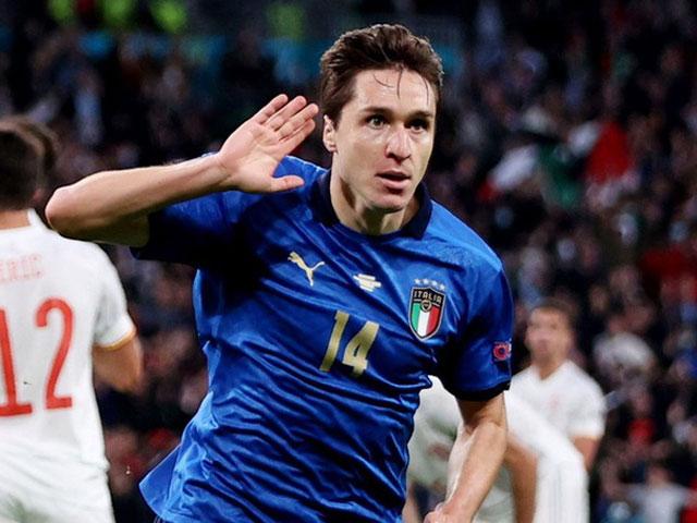 Federico Chiesa, ngôi sao Italia có thể cản giấc mơ vô địch EURO của ĐT Anh
