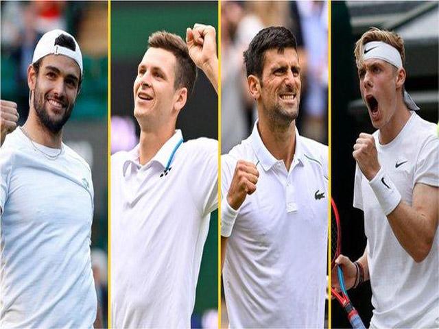 """Trực tiếp Wimbledon ngày 11: Djokovic lại """"dễ thở"""", Berrettini đấu kẻ gieo sầu Federer"""