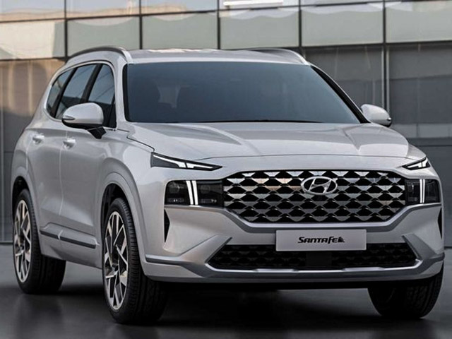 Hyundai SantaFe mới có thêm biến thể động cơ lai Hybird, liệu có về Việt Nam
