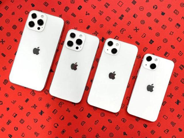 Hình ảnh cho thấy thiết kế cuối cùng của iPhone 13 series