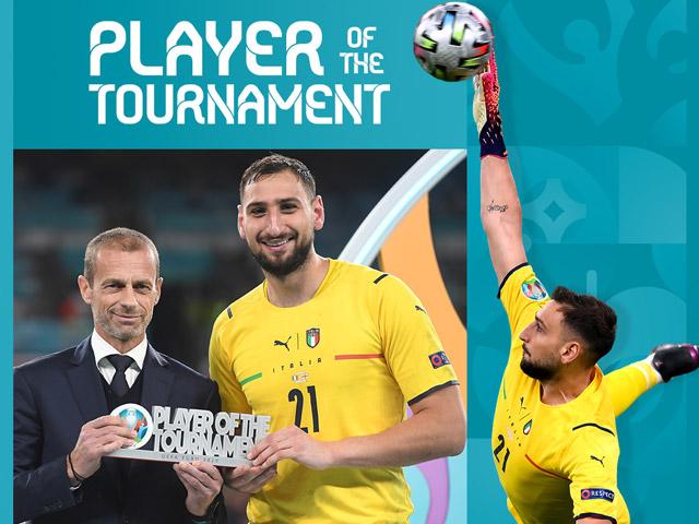 Donnarumma nhận giải hay nhất EURO, Ronaldo an ủi đoạt Vua phá lưới