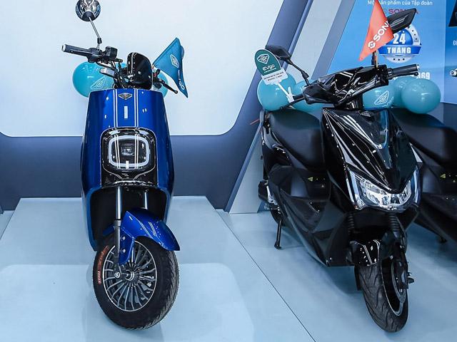 Ra mắt xe máy điện EVgo, giá từ 20,9 triệu đồng