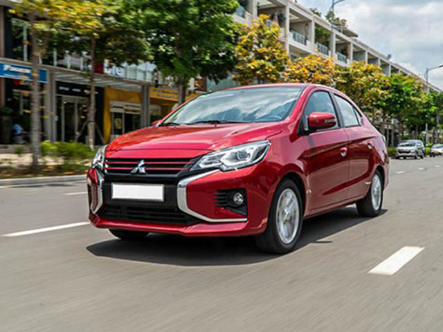 Giá lăn bánh Mitsubishi Attrage sau khi giảm 50% phí trước bạ