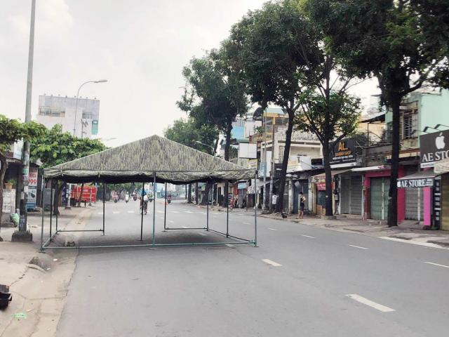 TP.HCM: Sau kẹt xe khủng khiếp, chốt kiểm soát dịch ở quận Gò Vấp đã được di dời