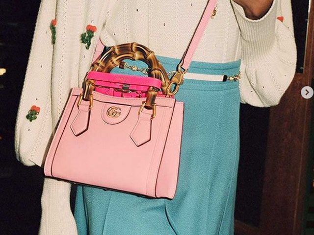 Túi Gucci Diana của cố công nương Anh tái xuất với phiên bản mới cực đẹp