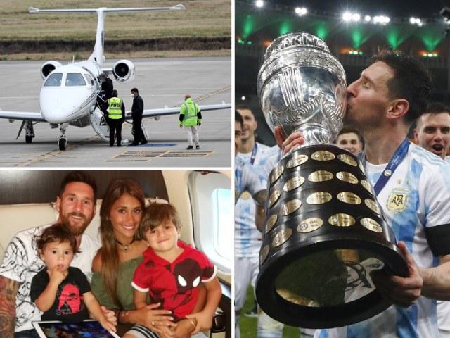 """Messi """"tái mặt"""" vì sự cố dọa đánh bom, bị chê """"ăn hôi"""" Copa America"""