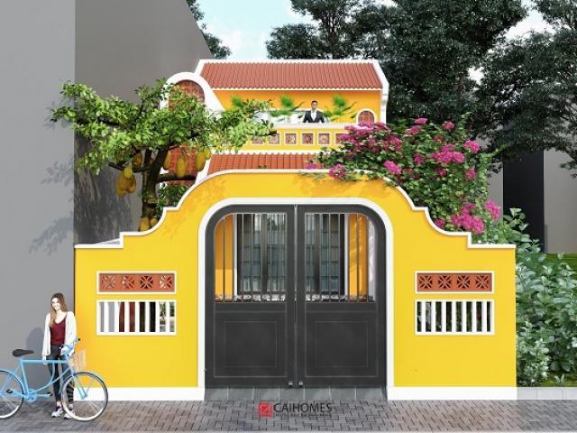 Cận cảnh ngôi nhà 700 triệu ở Bắc Ninh gây tranh cãi vì nhìn giống hệt chùa chiền