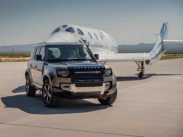 Land Rover hỗ trợ Virgin Galactic trong chuyến bay vào không gian đầu tiên