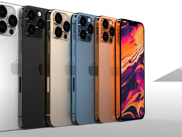 iPhone 13 Pro sẽ có các màu sang xịn nào?