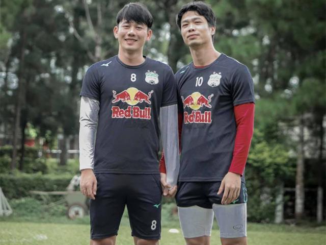 Minh Vương úp mở tương lai không cùng thi đấu với Công Phượng ở HAGL