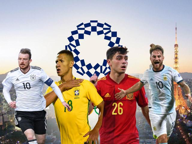 Nóng bỏng bóng đá Olympic: Brazil đại chiến Đức, TBN gặp Argentina cực hấp dẫn
