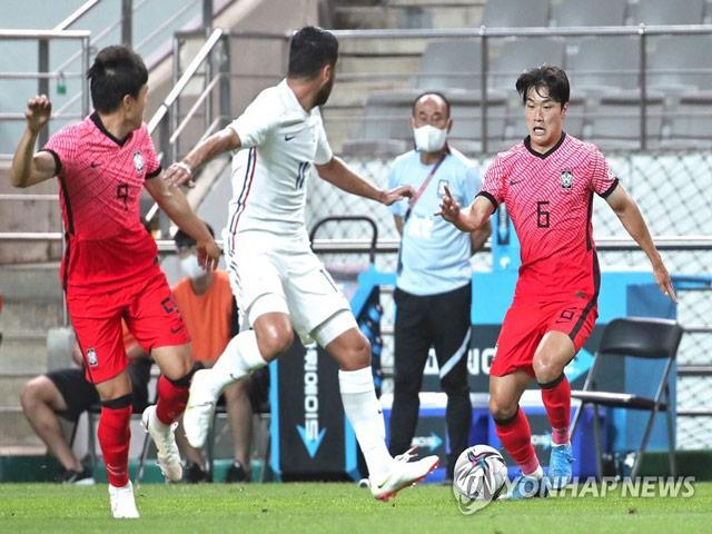 Pháp thắng may mắn trước Hàn Quốc, Brazil vùi dập UAE 5-2 trước thềm Olympic