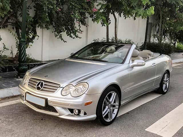 Tài chính 500 triệu có nên sở hữu xe thể thao Mercedes-Benz CLK đời 2004