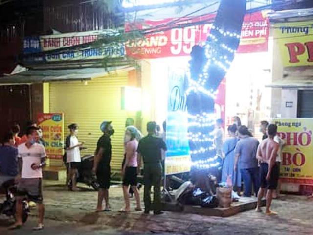 Chủ shop quần áo tử vong bất thường trong cửa hàng ở Hưng Yên