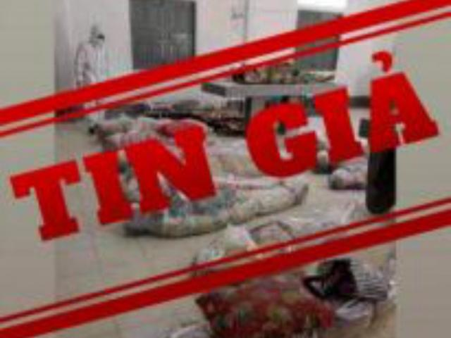 """Hình ảnh """"xác chết do COVID-19 tại TP.HCM"""" là tin giả"""