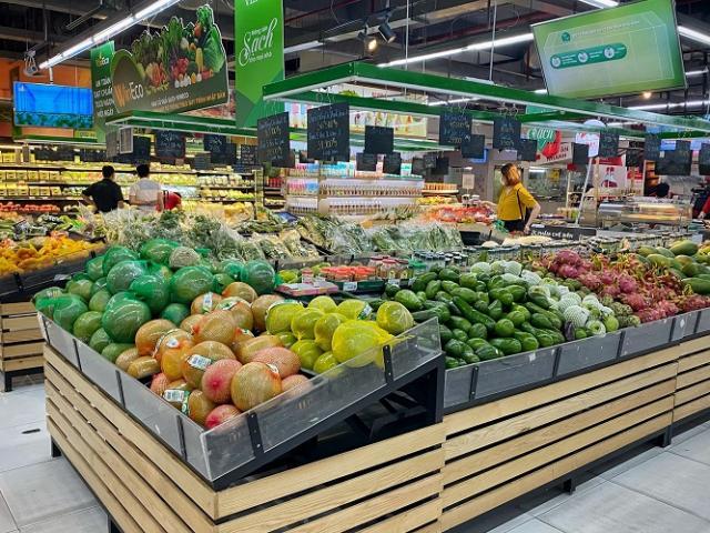 Hà Nội: Thực phẩm đầy ắp kệ hàng, siêu thị cam kết bình ổn giá phục vụ nhân dân chống dịch