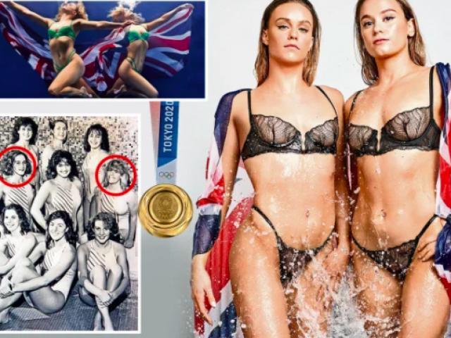 """Tá hoả 2 mỹ nhân bơi mặc bộ đồ bikini """"nhìn thấy hết"""" thi đấu Olympic"""