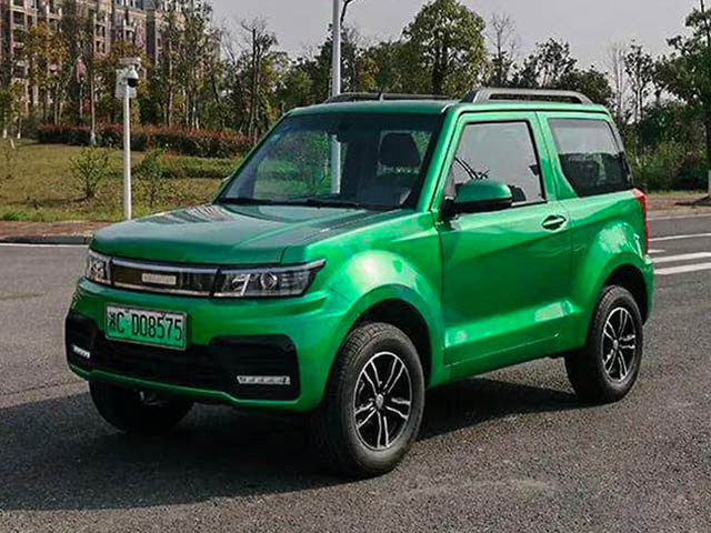 Xe điện gầm cao Trung Quốc giá siêu rẻ chỉ hơn 170 triệu đồng