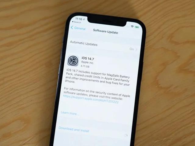 Apple chính thức phát hành iOS 14.7
