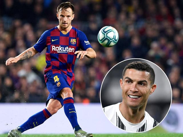 """Tiết lộ Ronaldo từng hóa """"siêu cò"""" dụ dỗ Ivan Rakitic, Barca phũ phàng phá tan"""