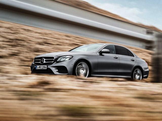 Mercedes-Benz triệu hồi loạt xe E-Class vì lỗi cảm biến sau