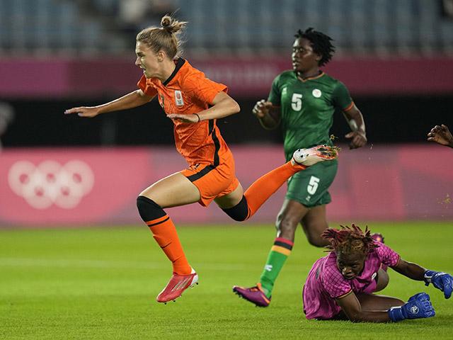 """ĐT nữ Zambia - Hà Lan: 13 bàn gây sốc, """"Cơn lốc da cam"""" càn quét (Olympic Tokyo)"""