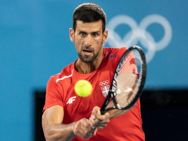 """Bốc thăm tennis Olympic: Djokovic gặp """"mồi ngon"""", hẹn Medvedev tranh HCV"""
