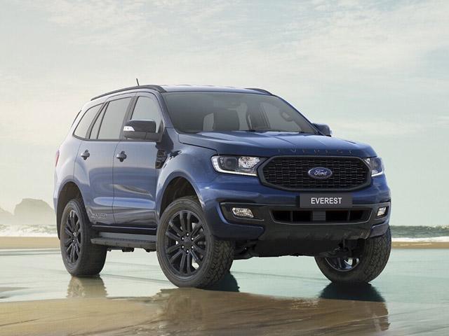 Giá xe Ford Everest lăn bánh tháng 7/2021, ưu đãi 20 triệu đồng