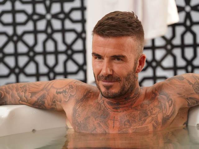 """David Beckham lại xăm mình, xứng đáng là """"tượng đài hoạ bì"""" không có đối thủ"""