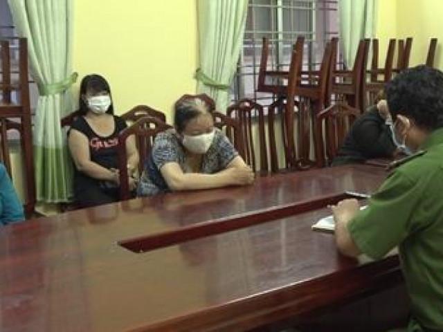 Tụ tập chuẩn bị đánh bạc, 6 phụ nữ bị phạt 90 triệu đồng