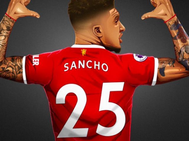 """Sancho không """"cướp"""" áo số 7 của Cavani, triệu fan MU khen cao thượng"""